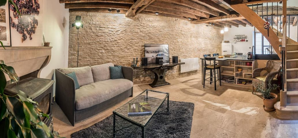 Cozy in Savigny, newly renovated - Savigny-lès-Beaune - Huis
