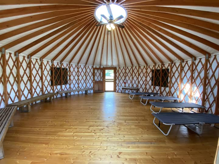 Cozy Yurt at Camp Whitcomb/Mason