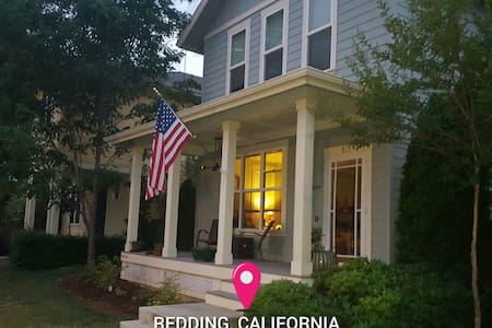 Peaceful & Pleasant Guestroom Home - Redding - Casa