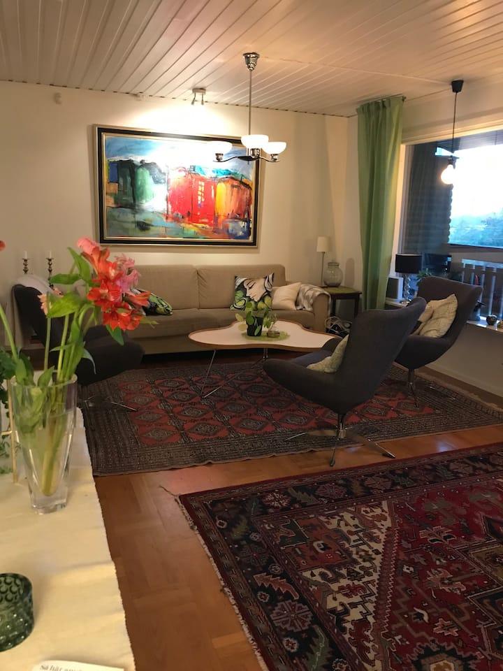 Rymlig villa i Askim med plats för 2 familjer
