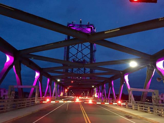 Memorial Bridge to Maine