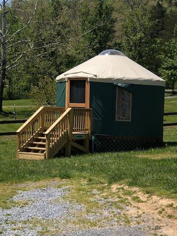 Dream Catcher Yurt @ #1 Rock Tavern River Kamp