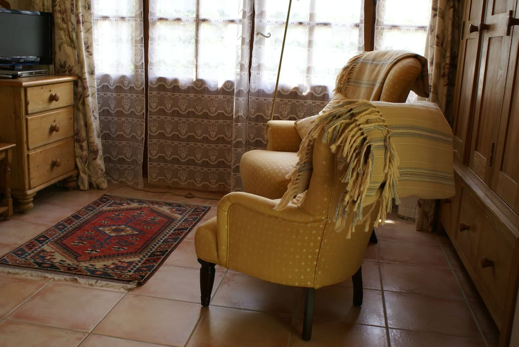 Sitting Room with French windows to sitting out area