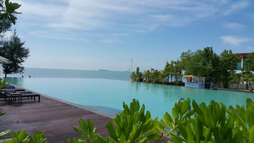 Cozy 1 BD with Ocean view - Rayong - Appartement en résidence