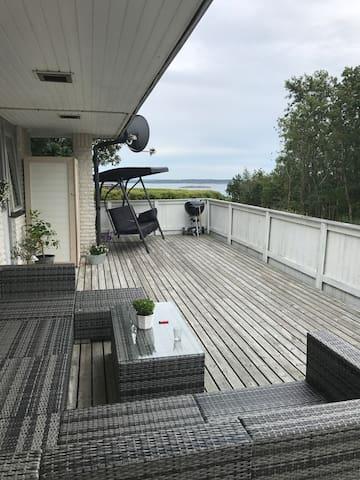Övervåning i villa