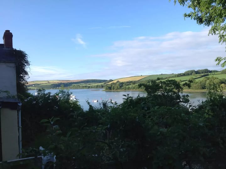St Dogmaels Estuary side Cottage-magic water views