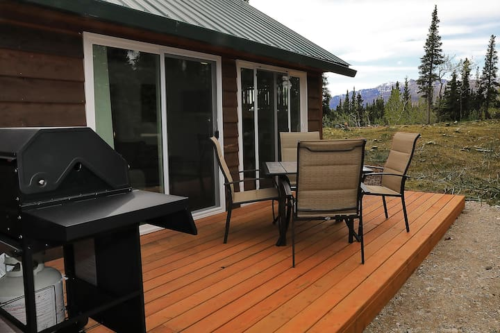Enjoy your own private deck with BBQ and gorgeous views!
