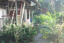 Zona de jardin.