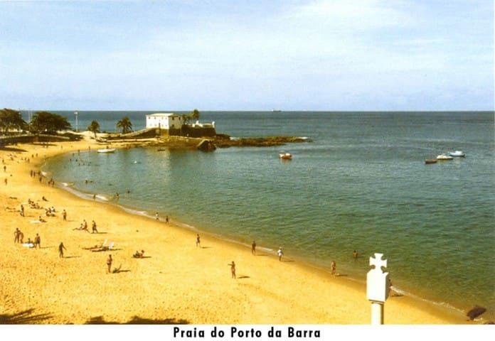 Localização fantástica: 3 ou 4 minutos, a pé, da Praia do Porto da Barra
