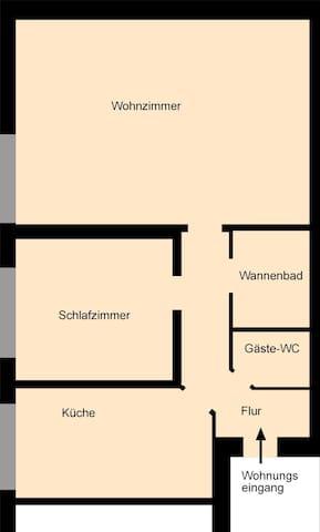 Wohnung 01 - Duisburg - Apartment