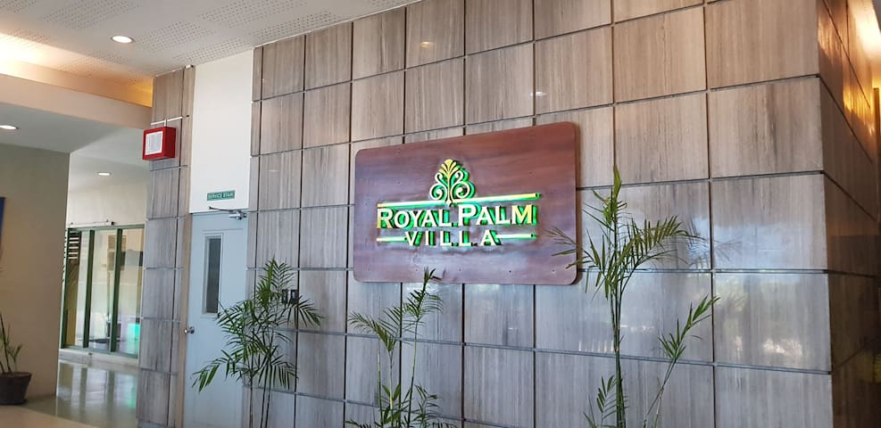 Royal palm villa Condo unit for rent
