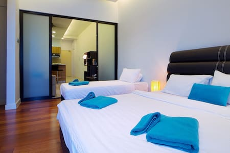 Warm,Cozy & Modern 3bedrooms @IMAGO N2 舒适,窝心三房公寓 - Appartement