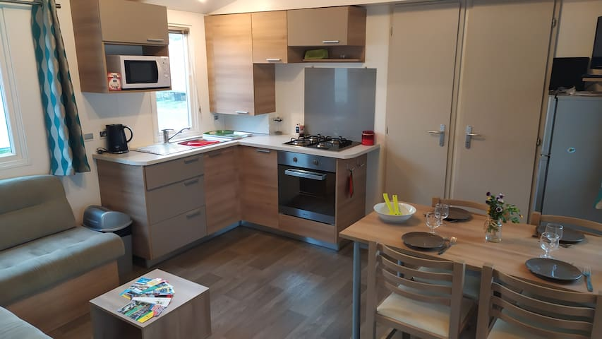 Mobile-home 4/6 personnes Valras Plage