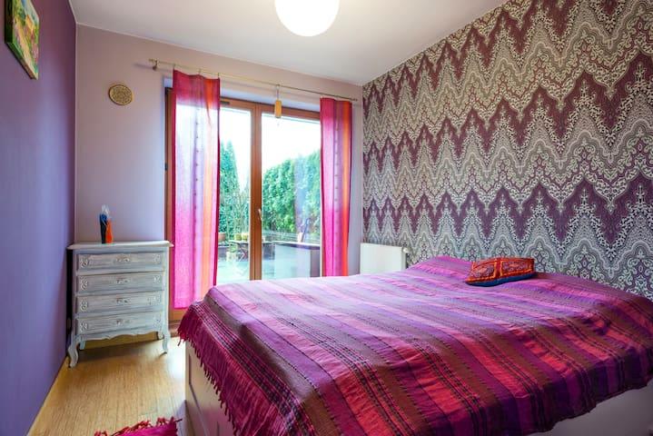 Unique  apartment  with  furnished garden - Kraków - Appartement