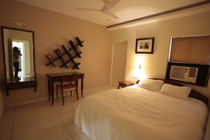 Room 2 ( double bed with attached balcony)