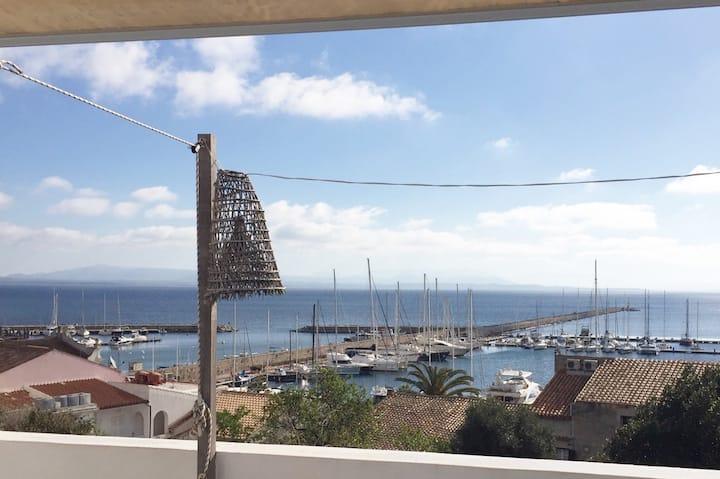 Ca' Martini, splendida vista sul  porto turistico