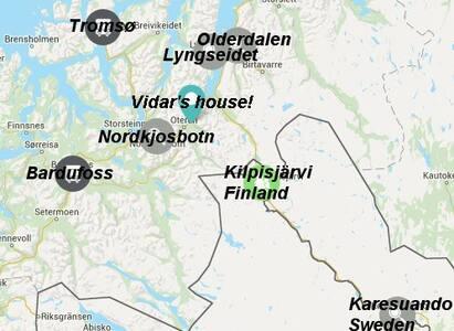 Vidar's house, Storfjord/ Lyngen - Oteren