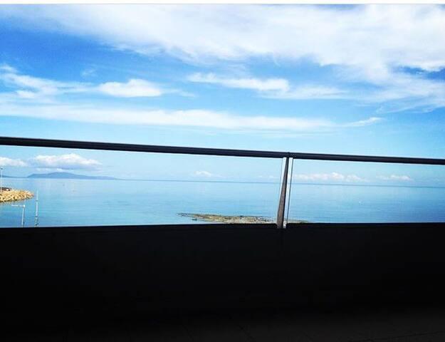 Camera vista mare in appartamento condiviso! - Porto Torres - Apartment