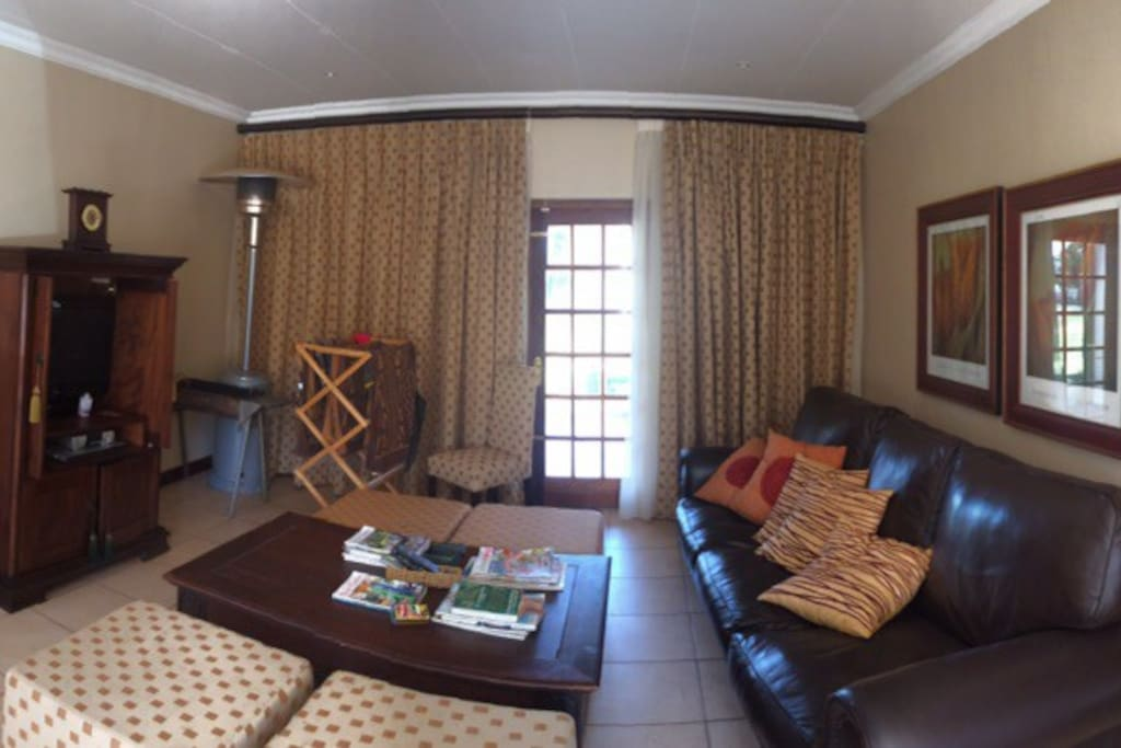 lounge area in villa