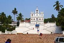 Panjim Church (10 Mins away)