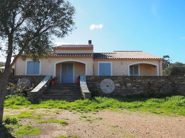 Maison gîte Santa Maria à la pointe du Cap Corse