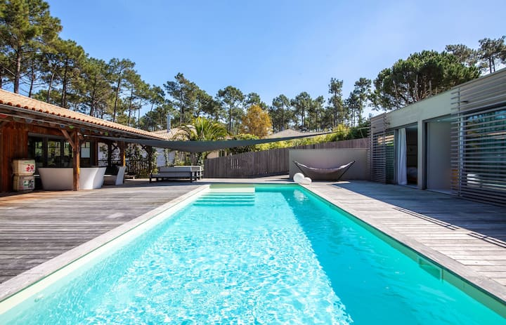 Luxurious villa in Cap Ferret for 12 people