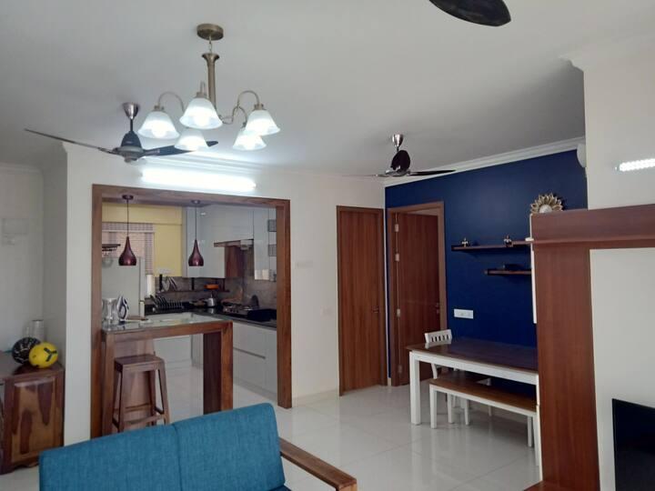 Whole House 3BHK Fully Furnished