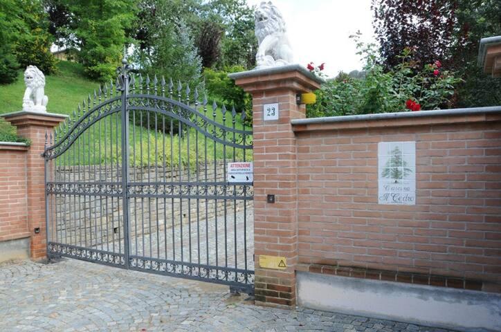 Entrata cancello