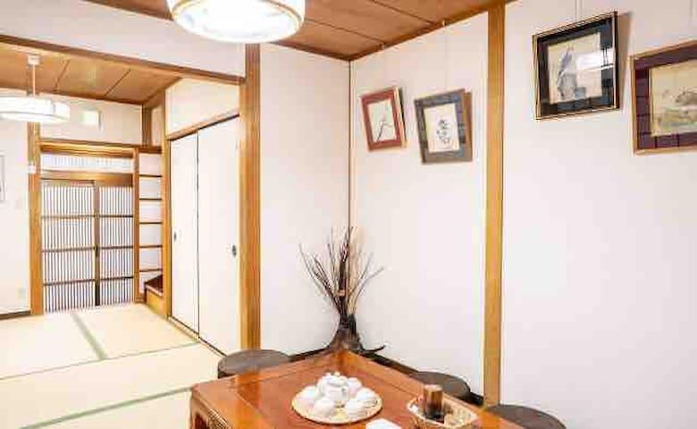 大阪最佳位置,合法民宿!JR环状线天满站走路5分钟,关西机场直达,纯日式古典和风二层小楼