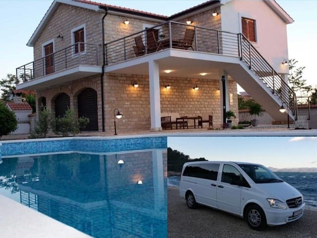 Relax&Enjoy, perfect family getaway. Van included.