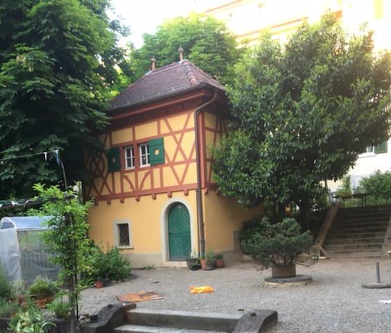 Antik House with a beautiful garden
