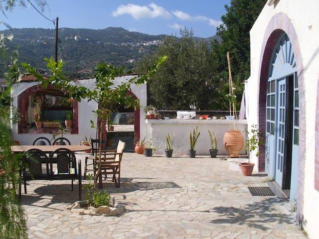Kastro 9- Palaiokastro Beach - Typical Cretan Room