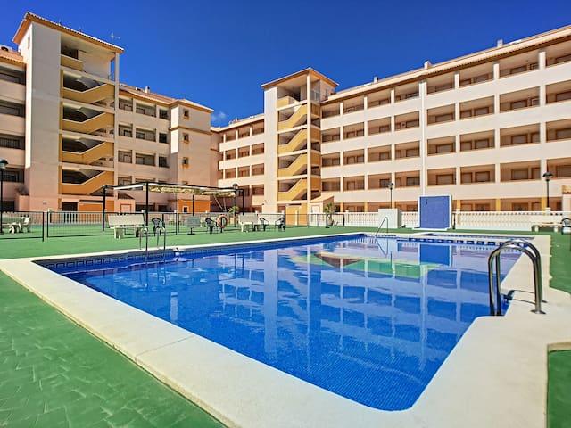Apart. 3. Etage, ratis WiFi, at-TV, Balkon, pool