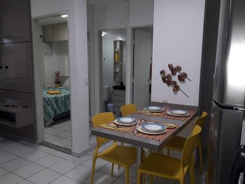 Apartamento na praia de Ponta Verde