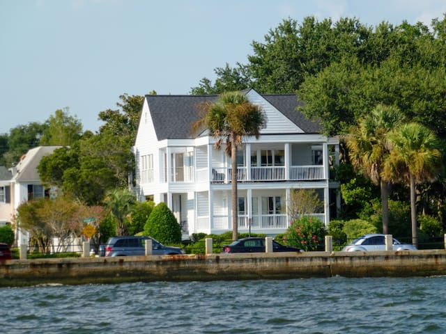 Unique Home located on the Battery in Charleston