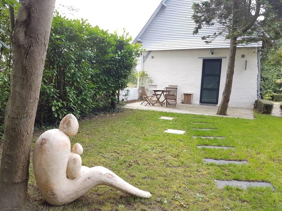 """Son jardin privatif avec """"Ensemble en Toscane"""" pour vous accueillir"""