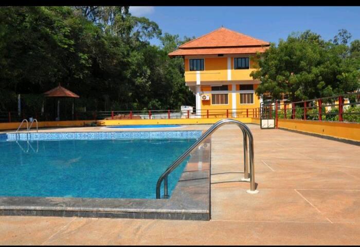 3BHK Villa near Auroville globe