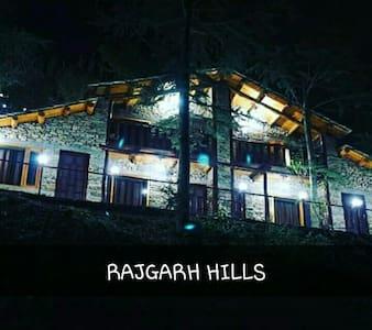 Rajgarh hills - Kotli - Kisház