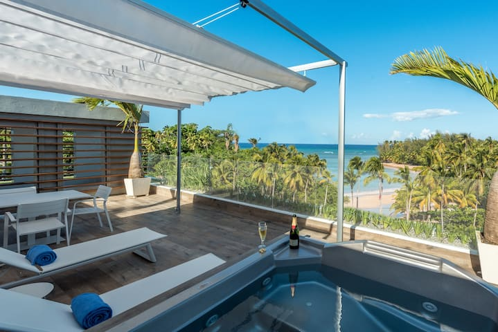 Luxurious Penthouse Beachfront:Offer March,Apr,May - Las Terrenas - Wohnung