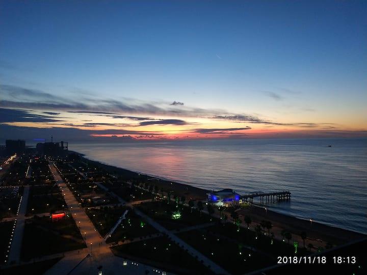 First line in Batumi Beach Tower ДС29