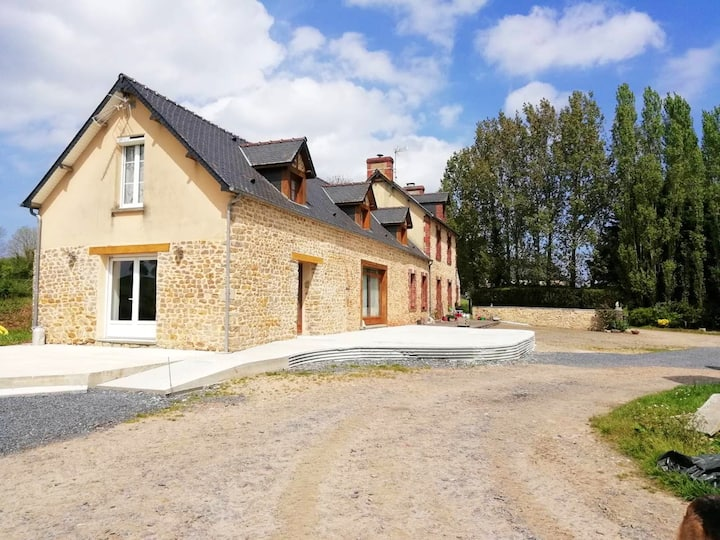House with 3 bedrooms in Saint-Marcouf, with furnished garden