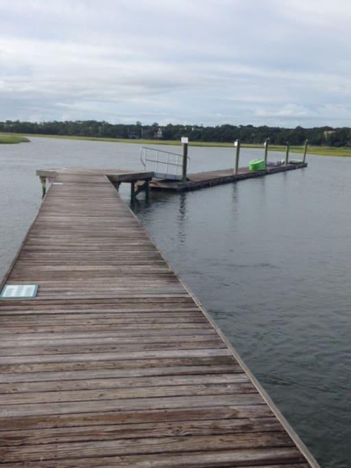Beautiful Marsh access to Kayak, Swim or Paddleboard