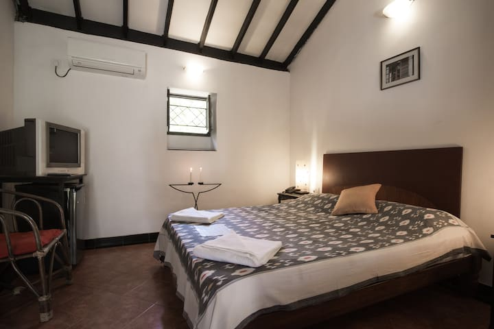 Comfortable 1 BR at Granpa's Inn Anjuna - Anjuna - House