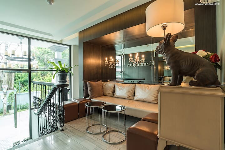 Condo in Sukhumwith 107,near BTS#10 minute by walk - กรุงเทพ - บ้าน