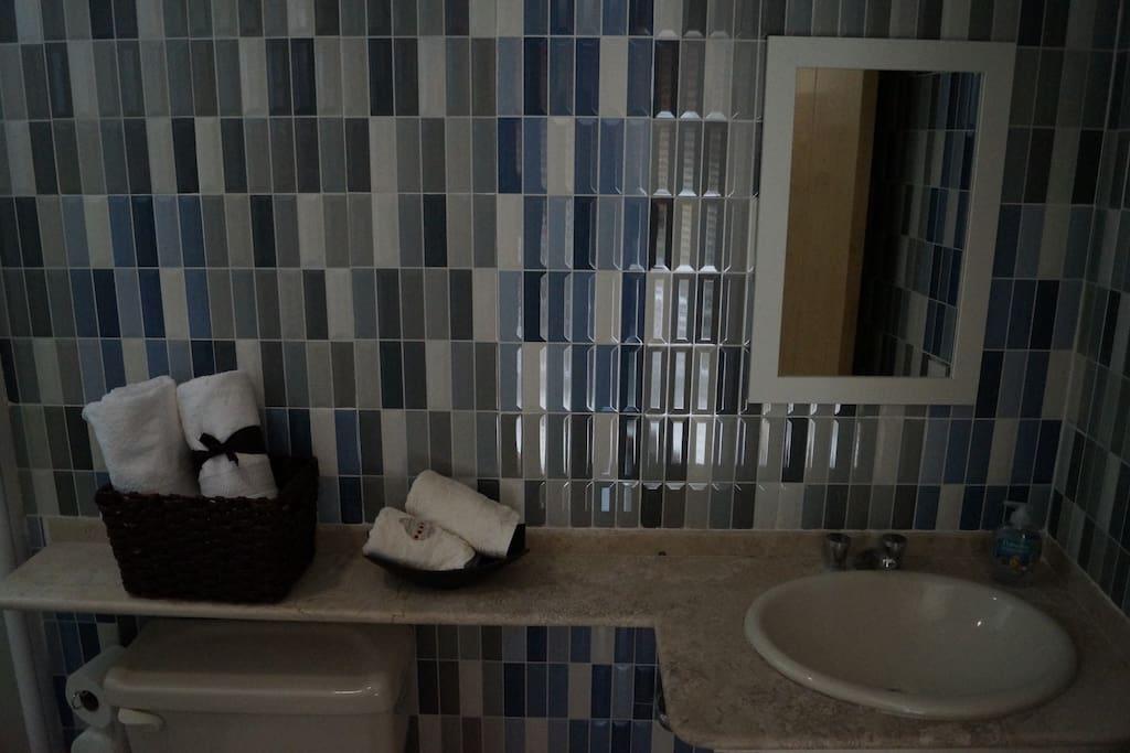 Baño del cuarto principal-Main bathroom