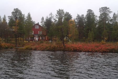 Peacefull cottage by Lake - Ivalo - House