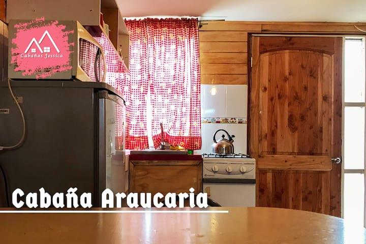 Cabaña Araucaria ( 2 Adultos )