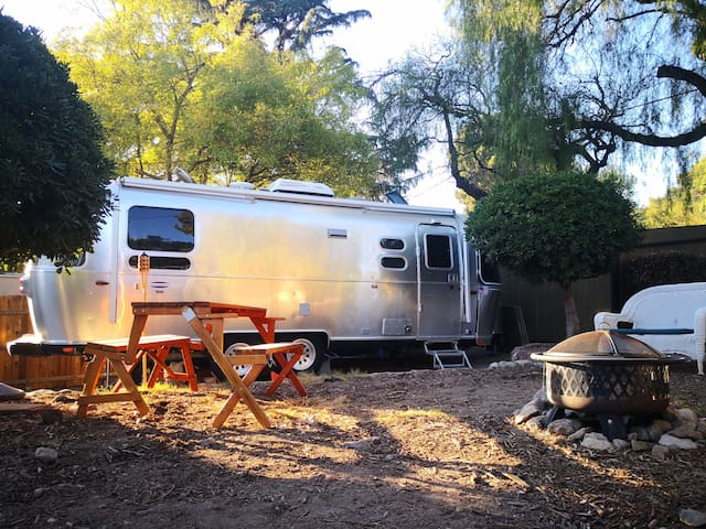 Airstream Glamping in LA