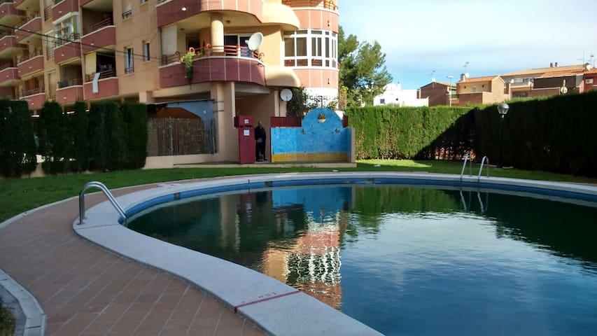Apartamento con gran terraza y vistas al mar - Oropesa del Mar - Appartement