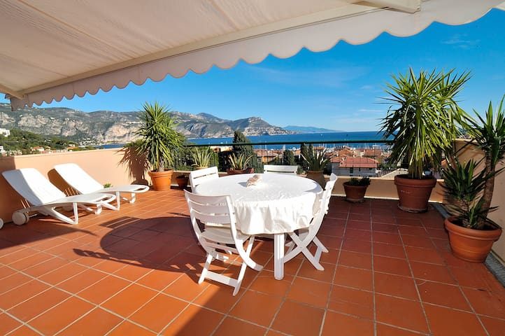 AMAZING SEA VIEW  WIFI + PARKING - Saint-Jean-Cap-Ferrat - Apartmen